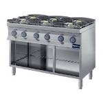 Cucina a gas 6 fuochi prof.900