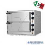 Forno elettrico per pizza 2 camere cm.41x36x11H(x2)
