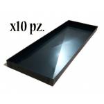 Teglia in lamiera blu 80x25x2H (10 Pezzi)