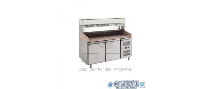 Banchi refrigerati per pizzerie