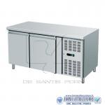 Banco refrigerato ventilato pasticceria,prof.800mm
