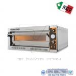 Forno elettrico per pizza 1 camera da cm.72x108x14H