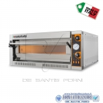 Forno elettrico per pizza 1 camera da cm.108x108x14H