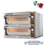 Forno elettrico per pizza 2 camere da cm.108x108x14H(x2)