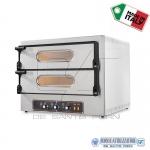 Forno elettrico per pizza 2 camere 61x52x11H(x2)