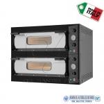 Forno elettrico per pizza 2 camere cm.66x99x14H(x2)