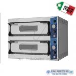 Forno elettrico per pizza 2 camere cm.108x108x14H(x2)