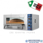 Forno a gas per pizza 1 camera 62 X 62 X 15,5