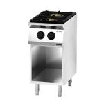 Cucina a Gas 2 fuochi su mobile a giorno