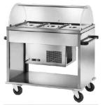 Carrello refrigerato capacità 3 vasche Gn1/1 +2°/+10°C
