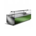 Banco refrigerato ventilato per salumi e prodotti freschi preconfezionati