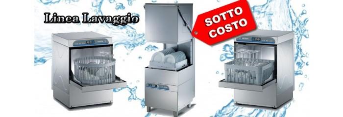 attrezzature per lavaggio macchine lavabicchieri lavastoviglie carico frontale e a capotte