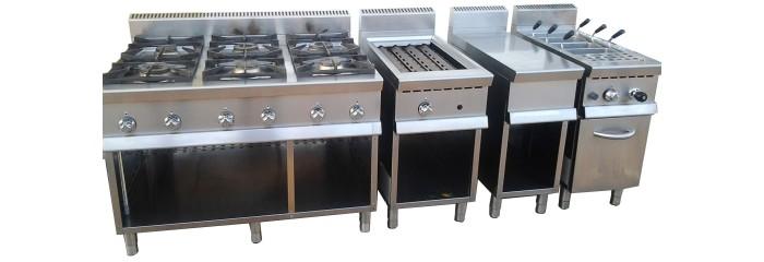 cucine modulari friggitrici fry-top cuocipasta serie 900